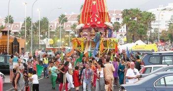 Фестиваль индийской культуры на Канарах: Ratha Yatra 2018