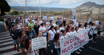 Новая демонстрация на юге Тенерифе с требованиями большей безопасности для жителей и туристов