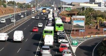Хаос на дорогах Тенерифе в первый университетский день