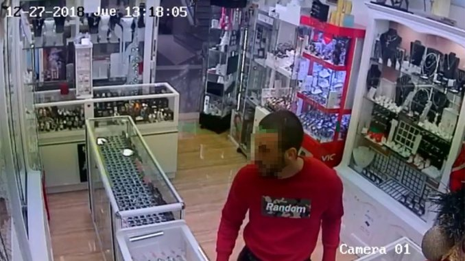 Ловите вора! Полиция интенсивно ищет этого человека