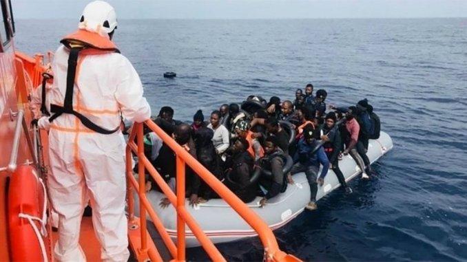 Канары: почти сотня нелегальных мигрантов из Африки прибыла вчера на острова