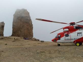 Тенерифе: ещё один скалолаз сорвался с высоты, отделался травмами