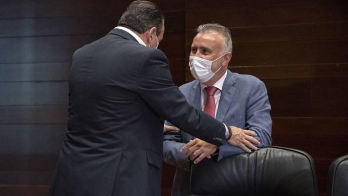 Правительство Канар собирается в Мадрид - жаловаться на местный суд