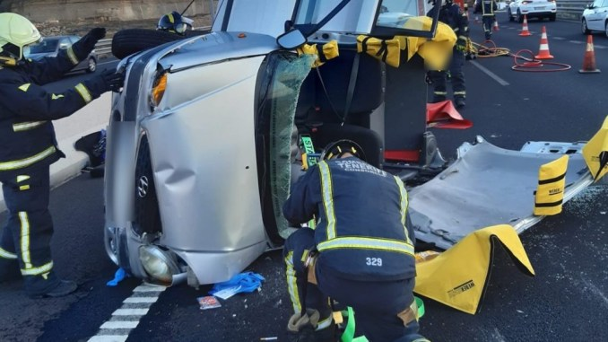 Чёрная суббота на дорогах Тенерифе: аварии и раненые
