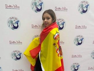 """Талант с острова Тенерифе, выступая от Испании, выигрывает на фестивале """"Baltic Voice"""""""