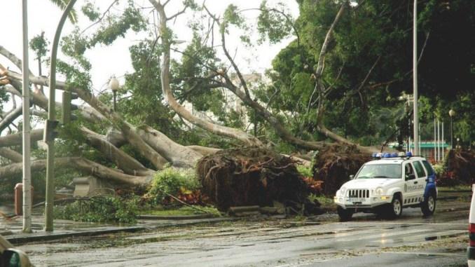 К югу от Канарских островов рождается мощный циклон. Доберётся до архипелага?