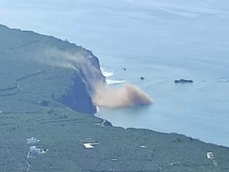 La Palma: на побережье Tazacorte зафиксированы оползни