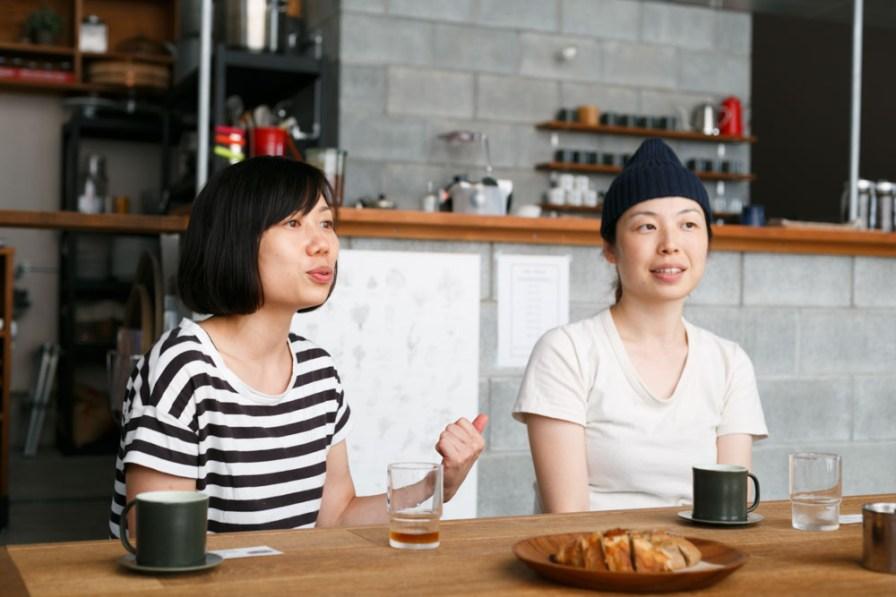 お客様には男性の方も多いとか。この雰囲気のカフェは男性は入りやすいですよね。