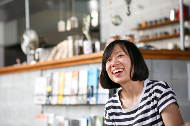 食材使っているときが、一番キラキラしている祥津子さんの笑顔!