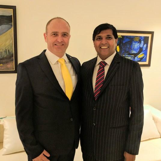Ambassador of Estonia in India Mr. Riho Kruuv