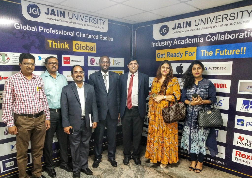 Ambassador of Namibia at the Jain University Bangalore
