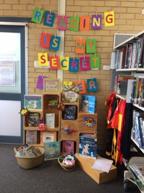 Book Week at St Augustine's Primary, Rivervale