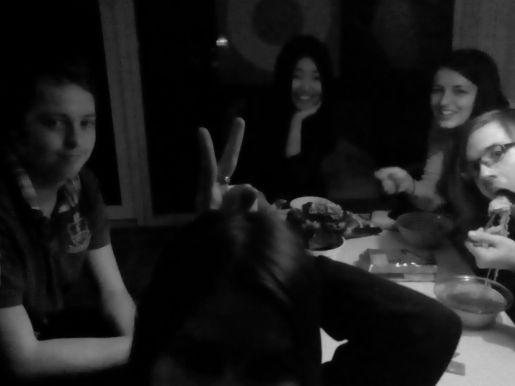 Pēc ballītes - nūdeles.After party - noodles..
