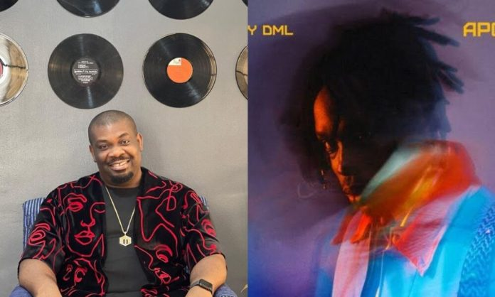 See Don Jazzy Reaction