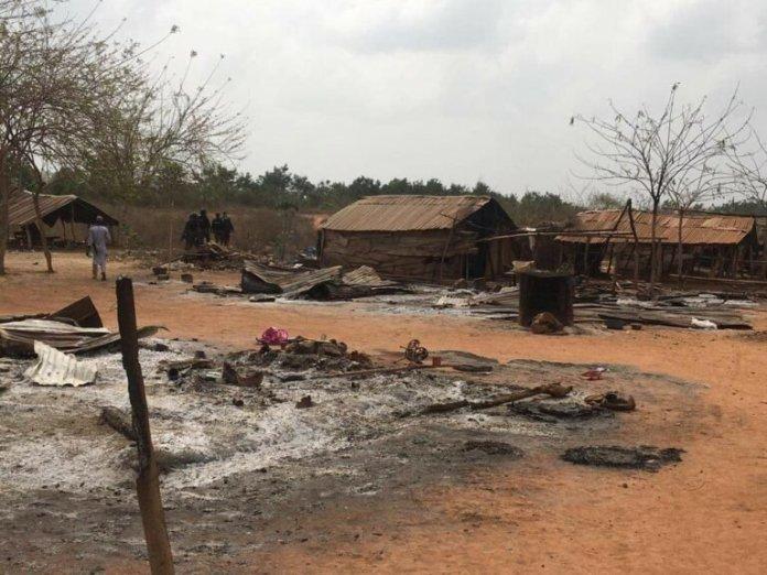 Fulani settlement set on fire in Ogun