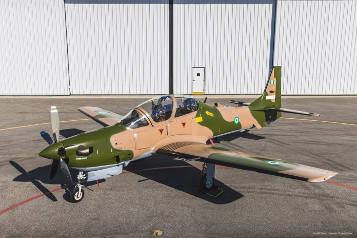 NAF to take delivery of first A-29 Super Tucano aircraft