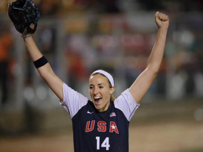 Softball Pitcher Monica Abbott Signs Record $1 Million Contract : The  Two-Way : NPR