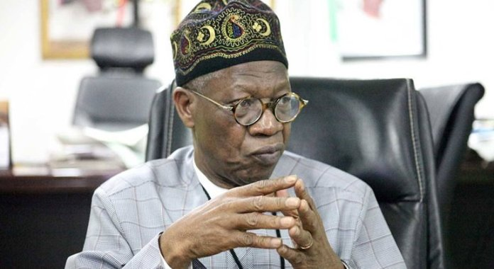 WhyAPC Elders Caucus Wants Minister Lai Mohammed Removed