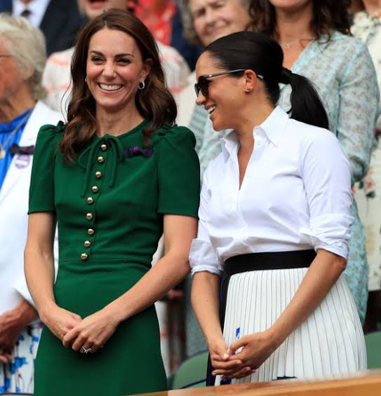 After A Royal Fight, Meghan Markle And Kate Middleton Exchange Texts.