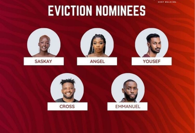 BBNAIJA 2021: Housemates Up For Possible Eviction This Coming Sunday