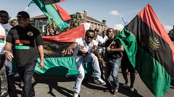 "Nigeria: pro-Biafra group IPOB demand ""fairness"" for its imprisoned leader Nnamdi Kanu   Africanews"
