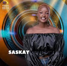 BBNaija: Saskay Evicted From The Big Brother House