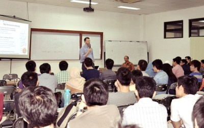 "Kuliah Tamu Oleh Prof.Michel Chaudron | ""Introduction to Empirical Research"""
