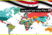 Photo of دول بدون فيزا للسوريين .. 29 دولة يمكن أن يدخلها السوري بدون تأشيرة تعرف عليها الآن