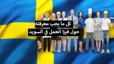 Photo of فيزا العمل في السويد … كل ما يجب معرفته حول هدا الموضوع
