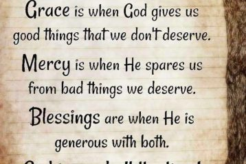The Grace and Thinking by Which I Stand – Inspirational Christian Blogs