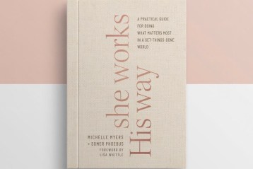 She Works His Way Book