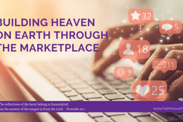 Building Heaven on Earth through the Marketplace