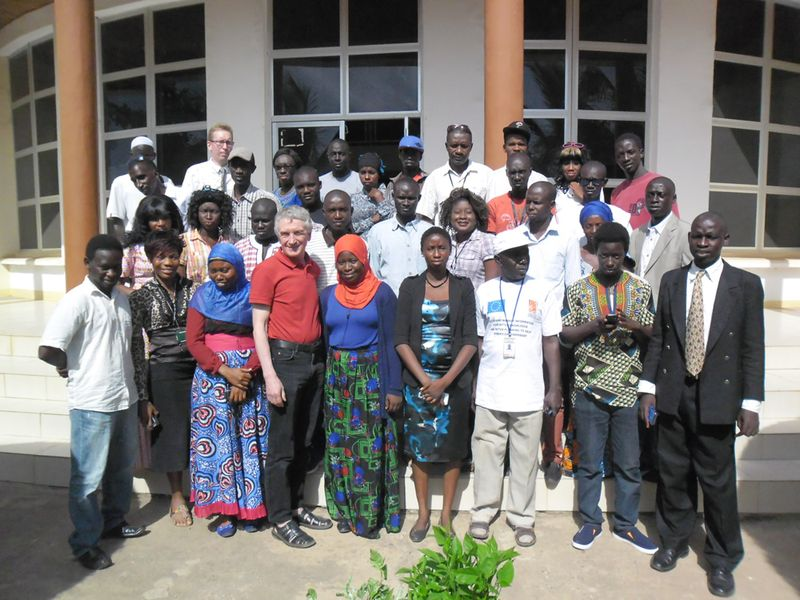 Gambian agri-journalists