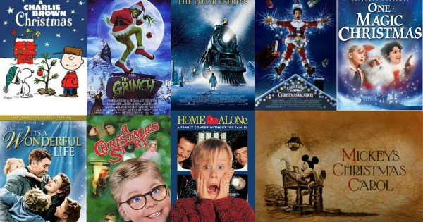 Check Out this List of Holiday Movies by Age Group!