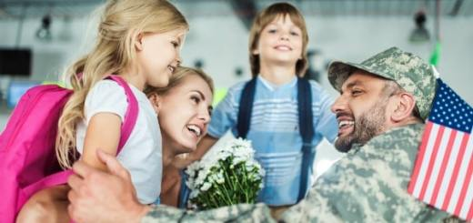 help military families during holidays