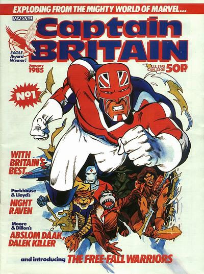 Captain Britain #1 Front Cover