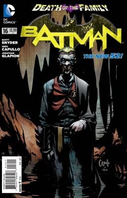 Batman, Scott Snyder, Greg Capullo, New 52, The Joker, Death of the Family