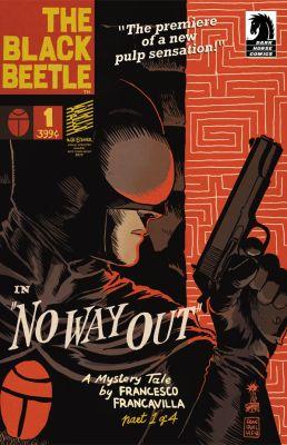 pulp, comics, Francesco Francavilla, Dark Horse Comics