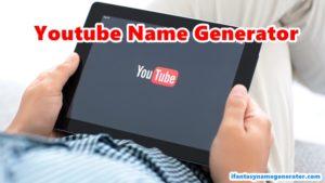 Youtube Name Generator - Random Cool YT Channel Names 2019