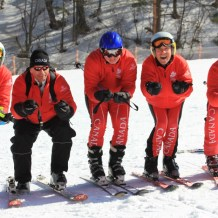 Special O down hill skiing photosm