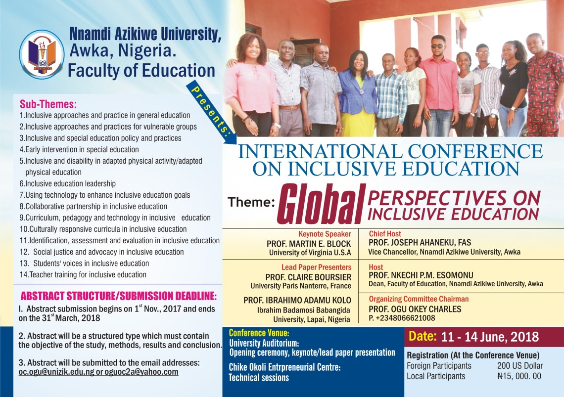 International Conference on Inclusive Education