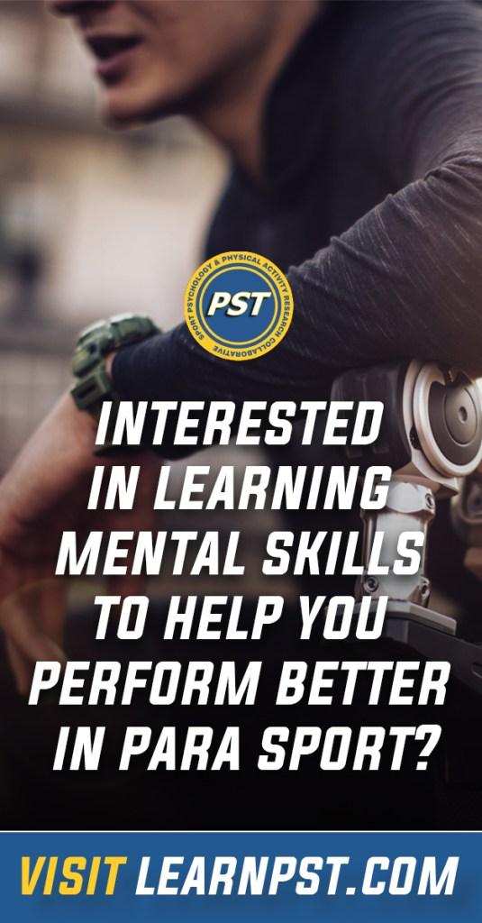 PST para-athletes