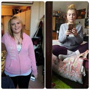 21 فتاة تغير شكلهن بشكل مذهل بعد فقدان الوزن !6