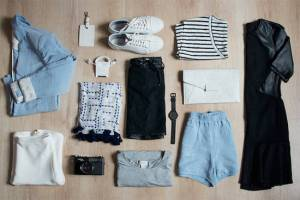 نمط أزياء بسيط