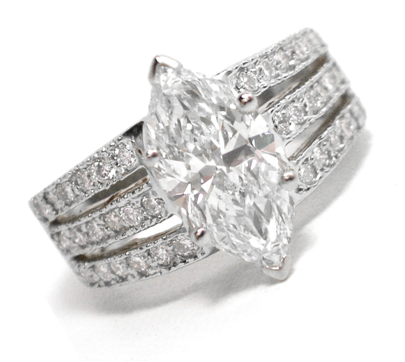Best Marquise Diamond Engagement Rings Fashion Trends