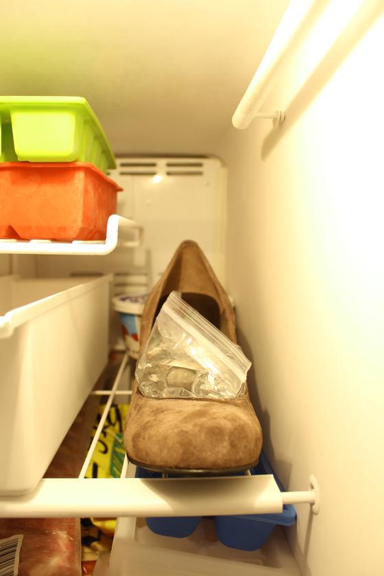 shoe freezer