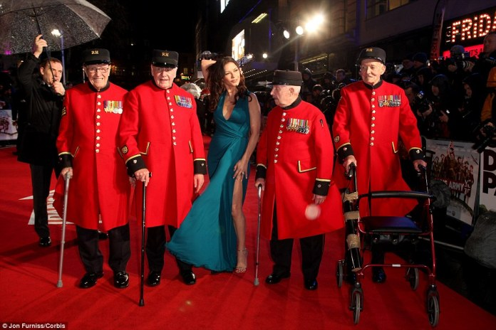 Chelsea Pensioners served in world war II