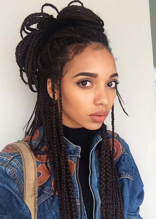 stylish_box_braids_hairstyles_half_top_knot_box_braids9