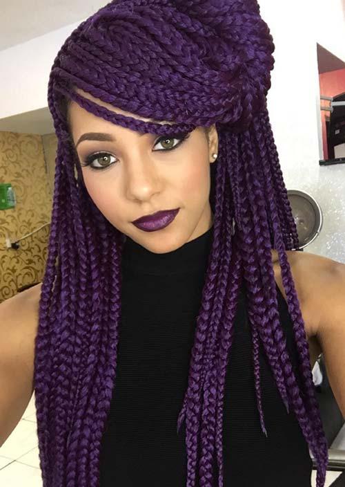 stylish_box_braids_hairstyles_half_up_half_down_box_braids26
