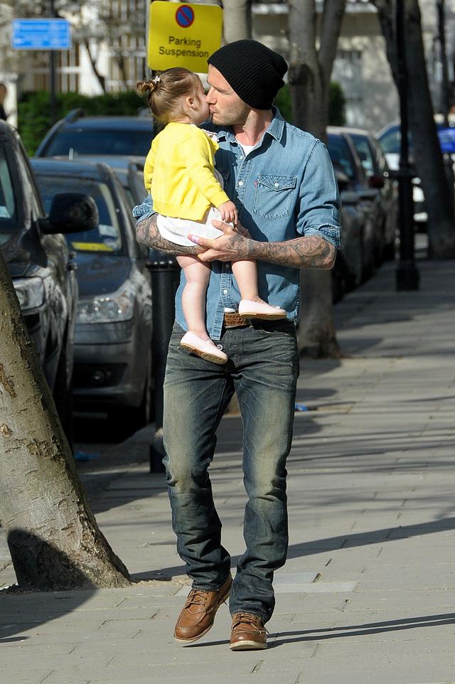 Look 5: David Beckham